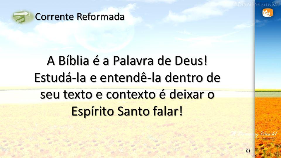 A Bíblia é a Palavra de Deus!