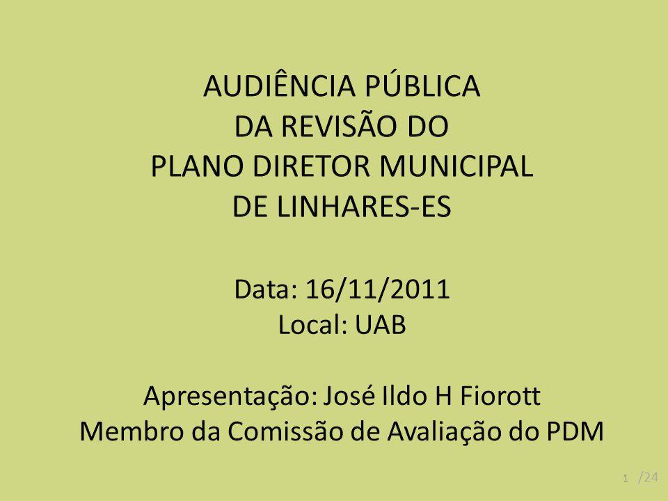 PLANO DIRETOR MUNICIPAL DE LINHARES-ES