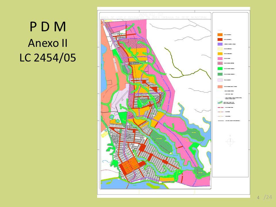 P D M Anexo II LC 2454/05 /24