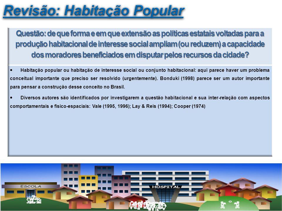 Revisão: Habitação Popular