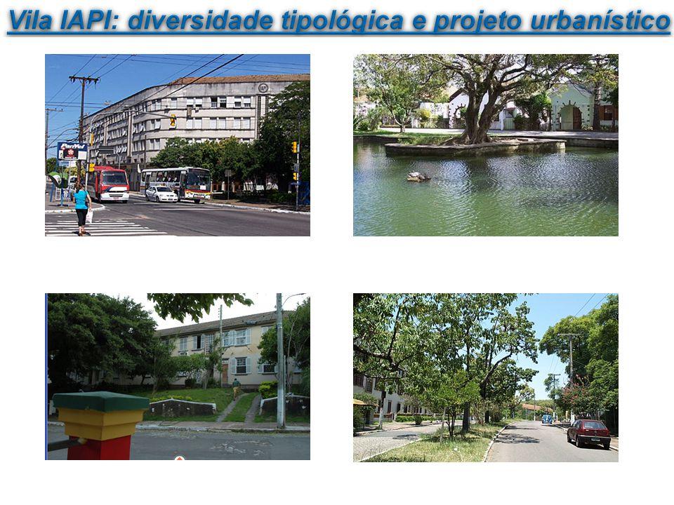 Vila IAPI: diversidade tipológica e projeto urbanístico