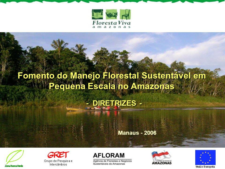 Fomento do Manejo Florestal Sustentável em Pequena Escala no Amazonas - DIRETRIZES -