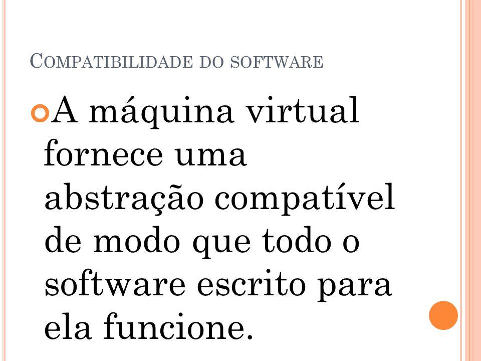 Compatibilidade do software