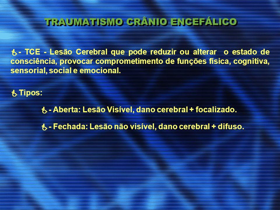 TRAUMATISMO CRÂNIO ENCEFÁLICO