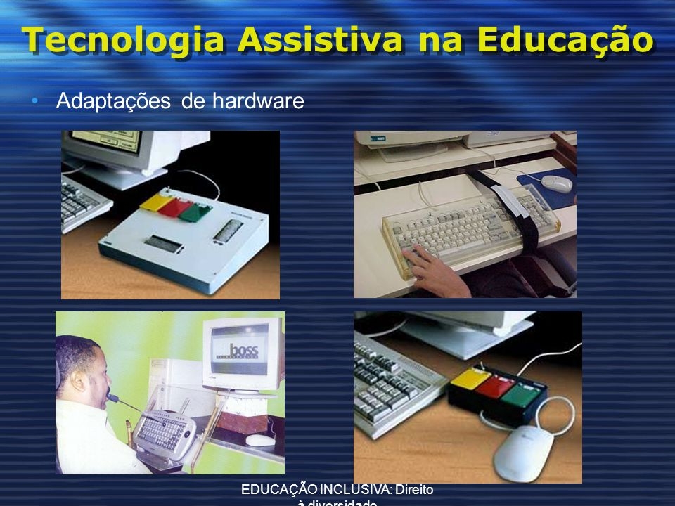 Tecnologia Assistiva na Educação