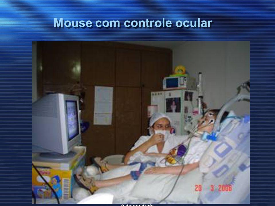 Mouse com controle ocular