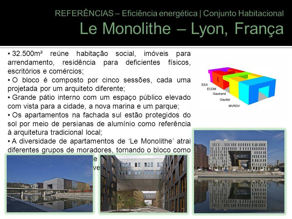 Le Monolithe – Lyon, França