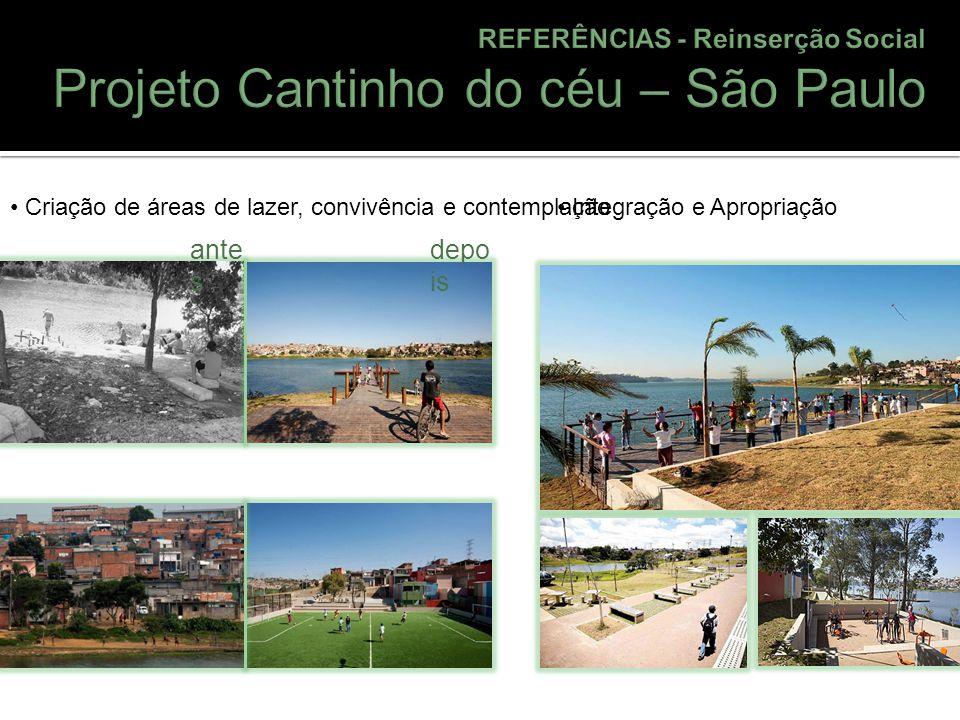 Projeto Cantinho do céu – São Paulo