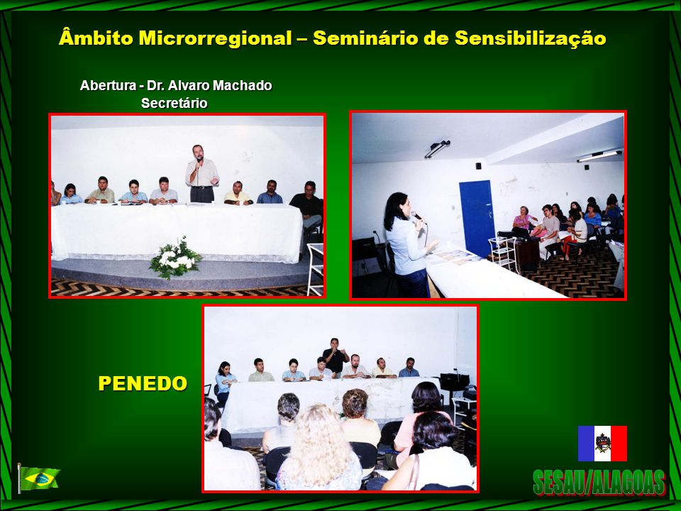 Abertura - Dr. Alvaro Machado
