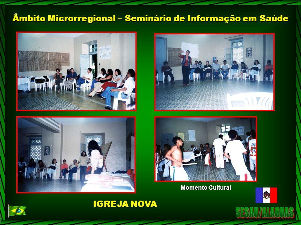 Âmbito Microrregional – Seminário de Informação em Saúde