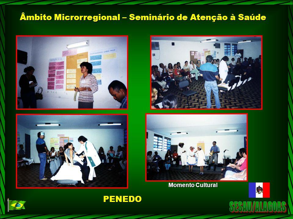 Âmbito Microrregional – Seminário de Atenção à Saúde
