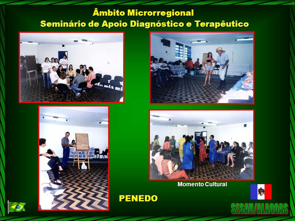 SESAU/ALAGOAS Âmbito Microrregional
