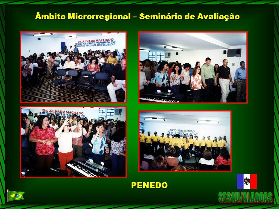 Âmbito Microrregional – Seminário de Avaliação