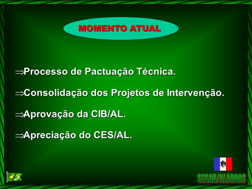 SESAU/ALAGOAS Processo de Pactuação Técnica.
