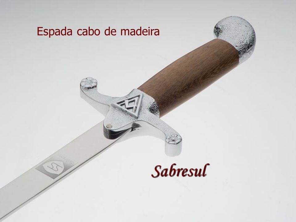 Espada cabo de madeira Sabresul