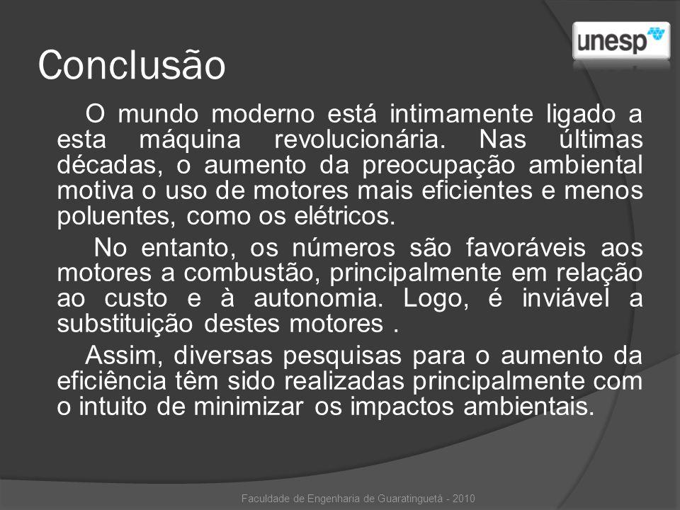 Faculdade de Engenharia de Guaratinguetá - 2010