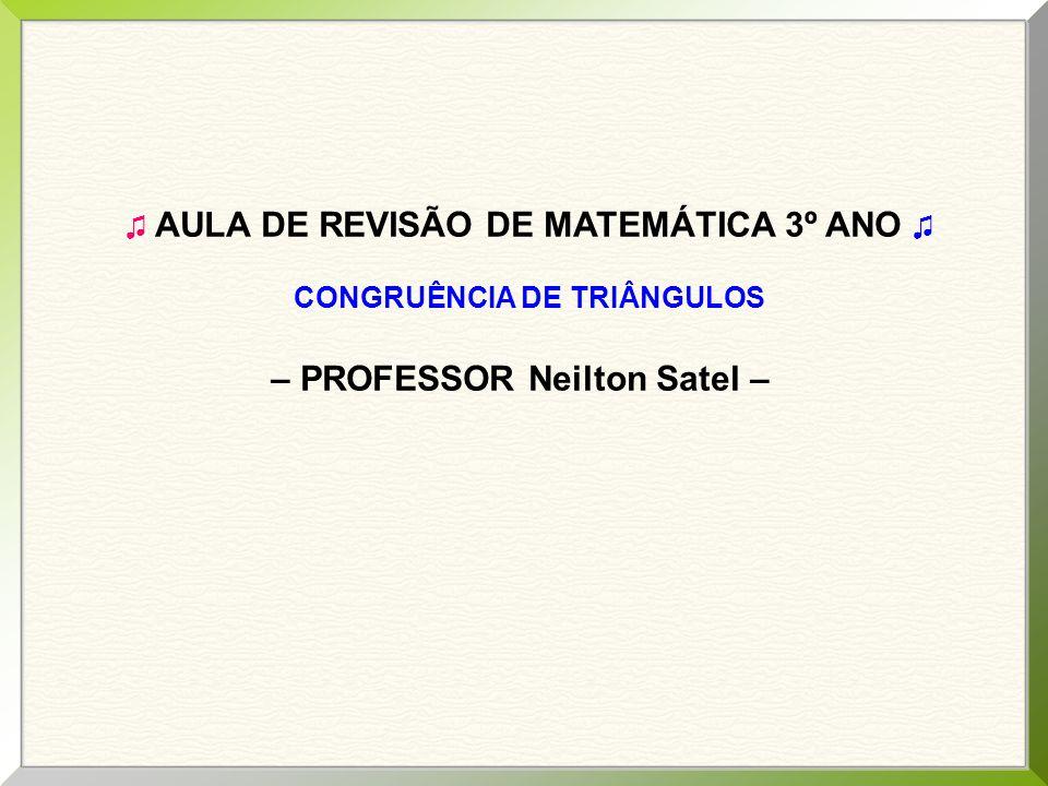 – PROFESSOR Neilton Satel –