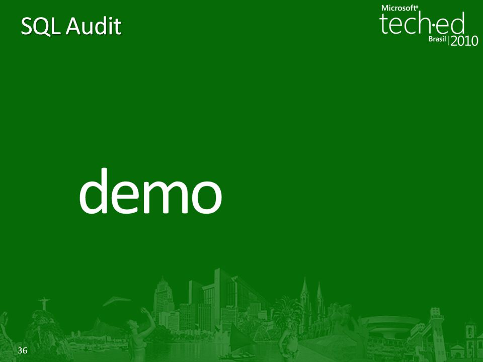 SQL Audit