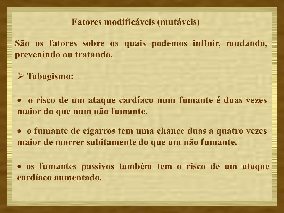 Fatores modificáveis (mutáveis)