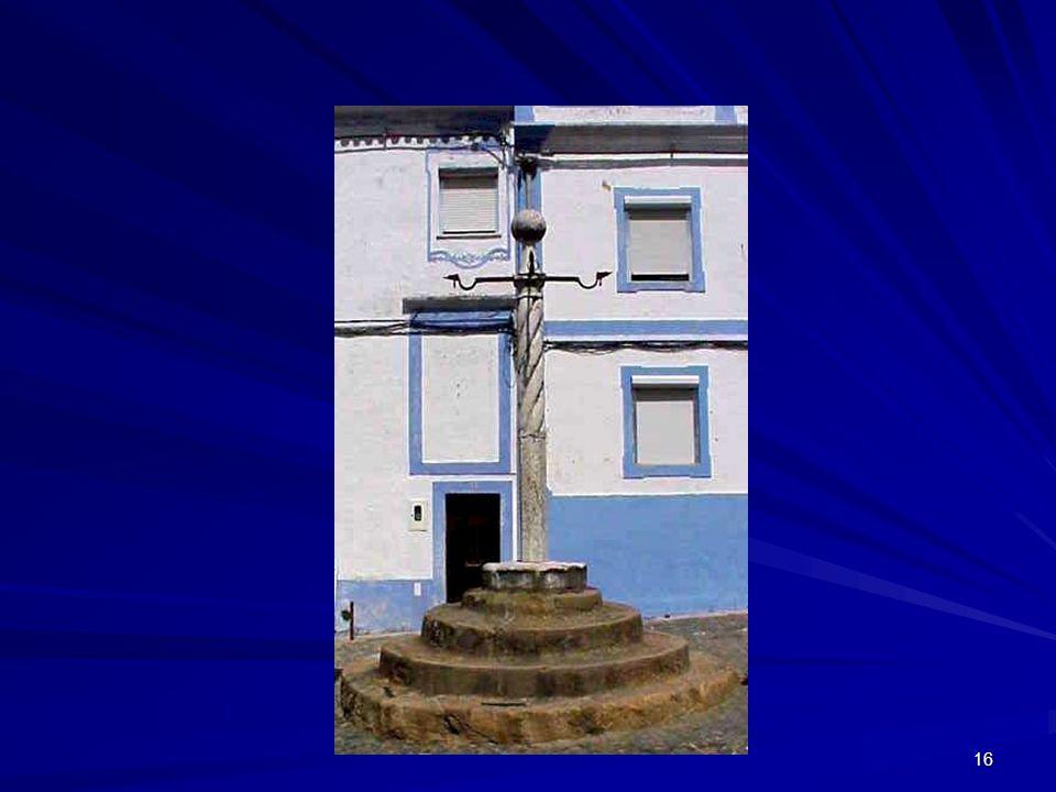 Pelourinho – local de exposição e vergonha públicas
