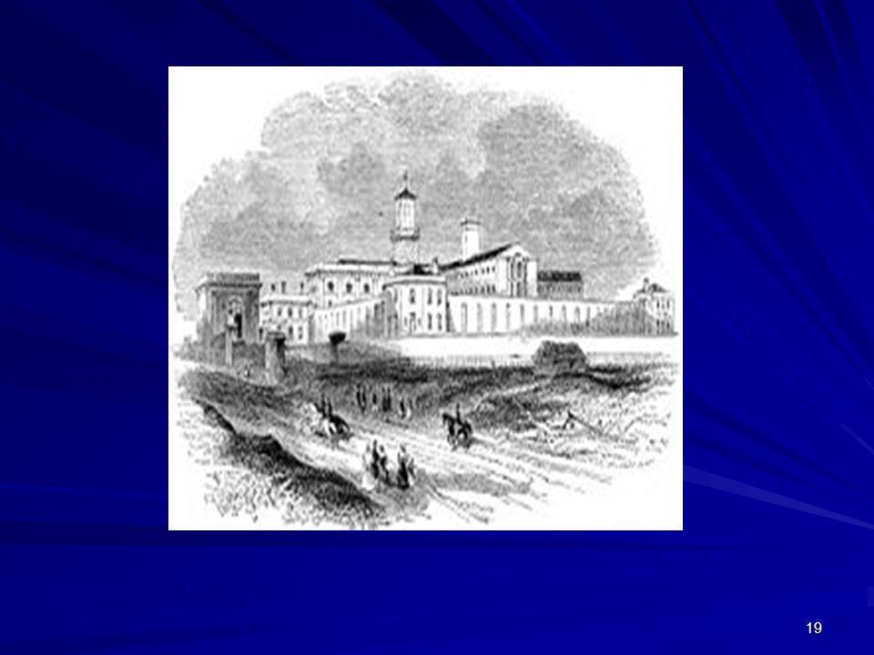 Pentonville, 1842. Agora prisão local , no meio da cidade