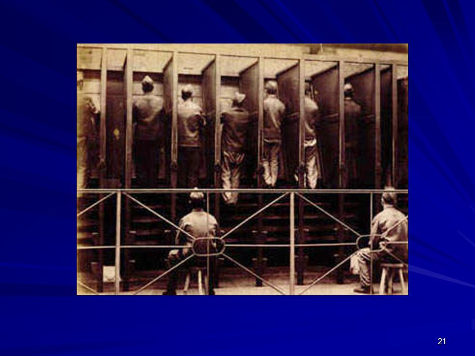 The tread wheel at Pentonville Prison in 1895