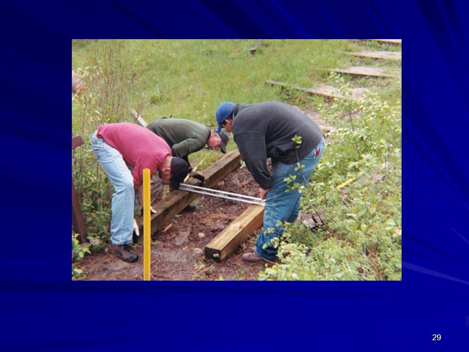 Community Service (estão a construir uma escada)