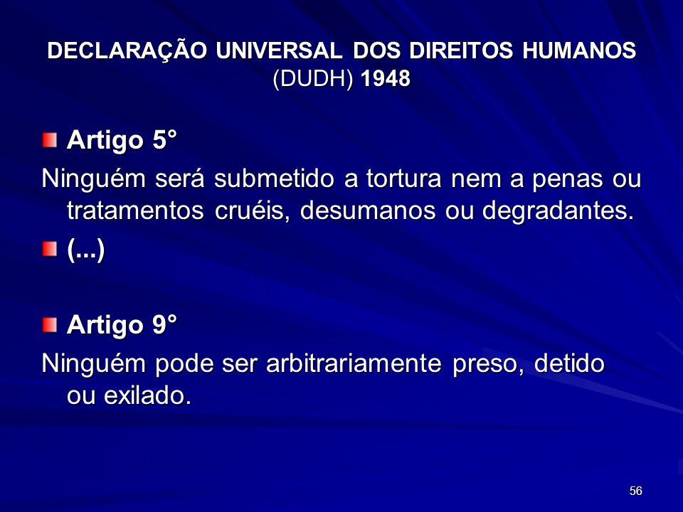 DECLARAçÃO UNIVERSAL DOS DIREITOS HUMANOS (DUDH) 1948