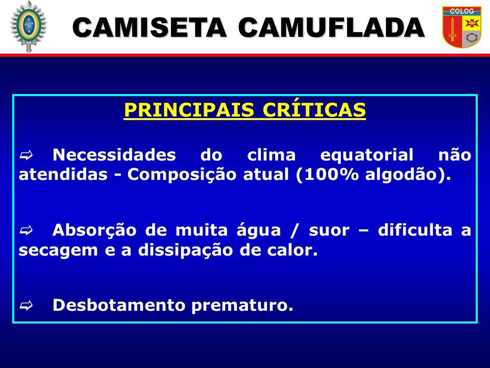 CAMISETA CAMUFLADA PRINCIPAIS CRÍTICAS