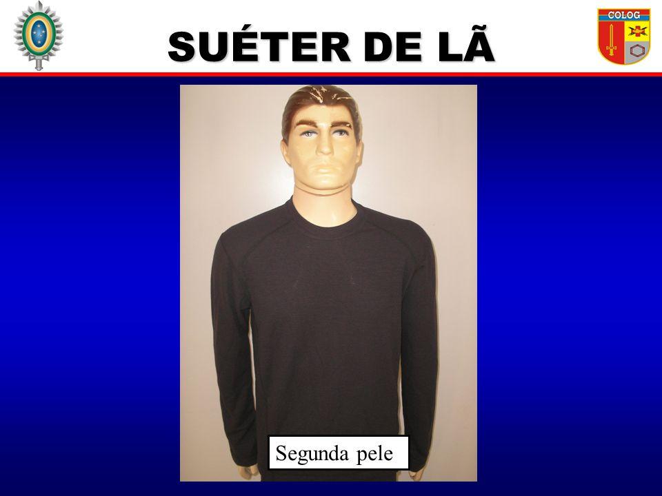 SUÉTER DE LÃ Segunda pele