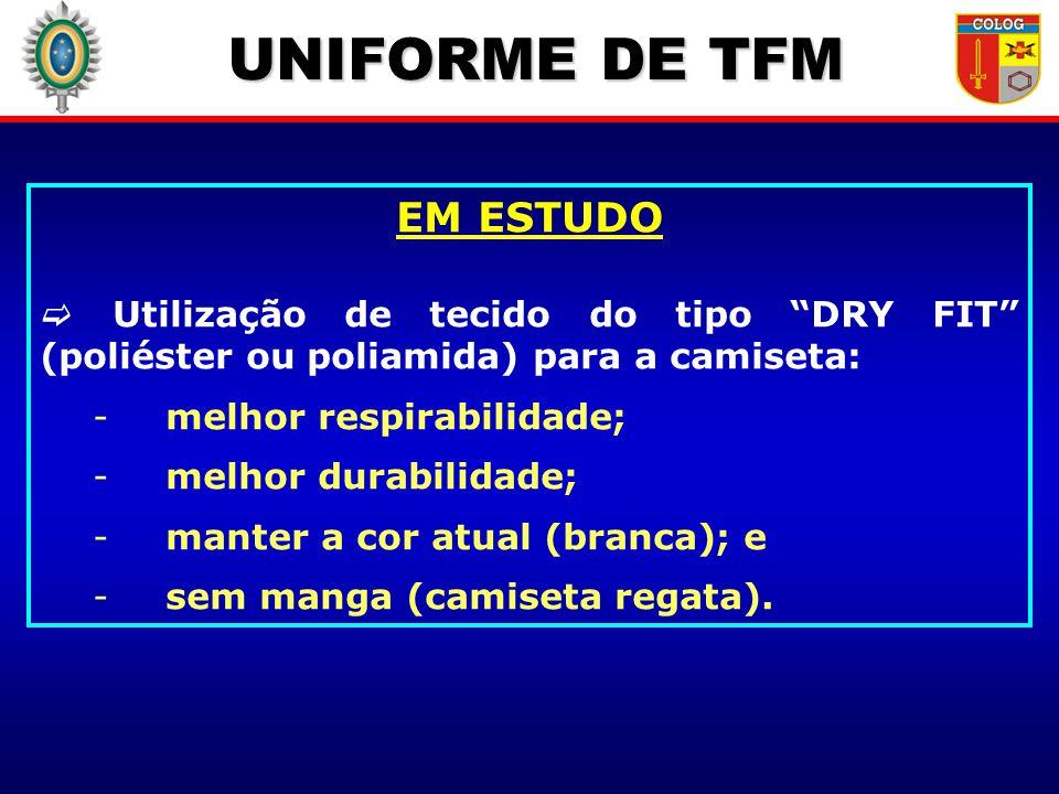 UNIFORME DE TFM EM ESTUDO