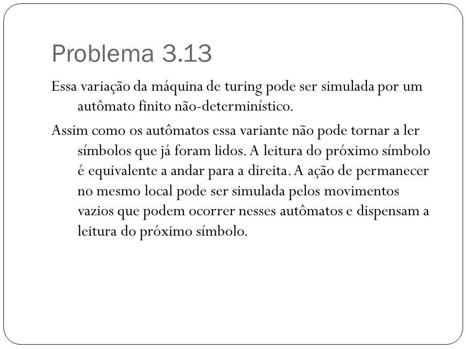 Problema 3.13