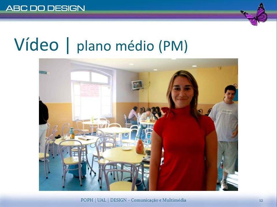 Vídeo | plano médio (PM)