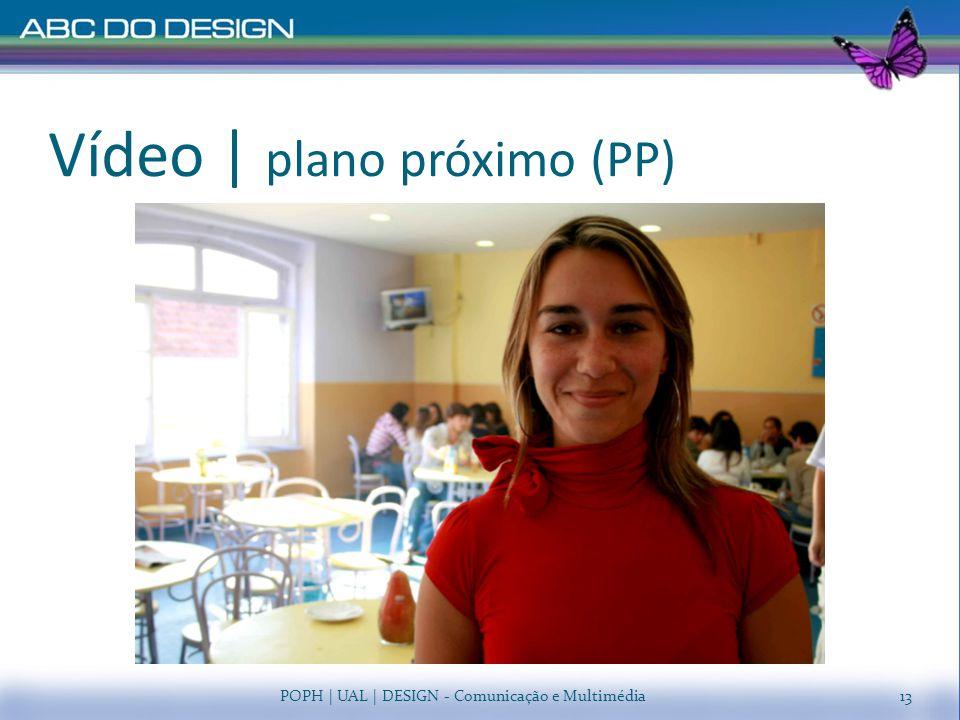 Vídeo | plano próximo (PP)