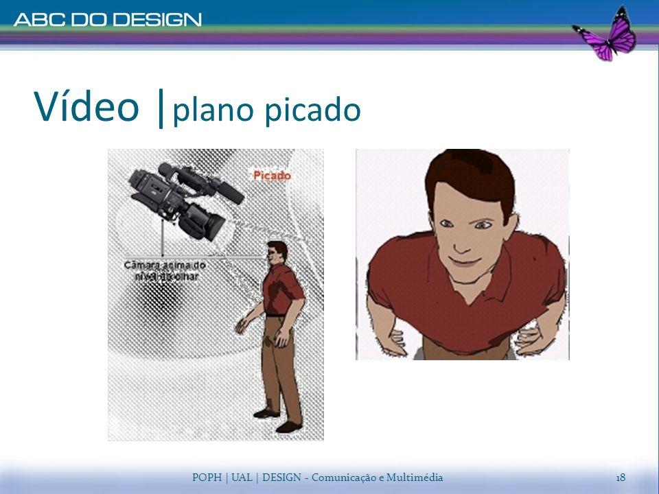 Vídeo |plano picado POPH | UAL | DESIGN - Comunicação e Multimédia