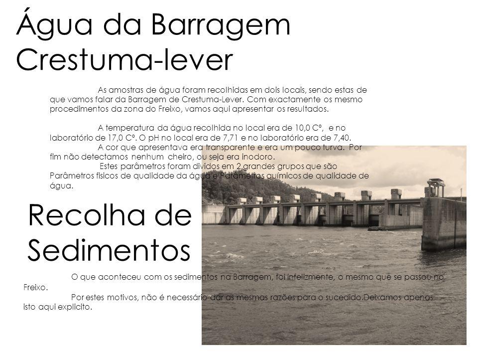 Água da Barragem Crestuma-lever