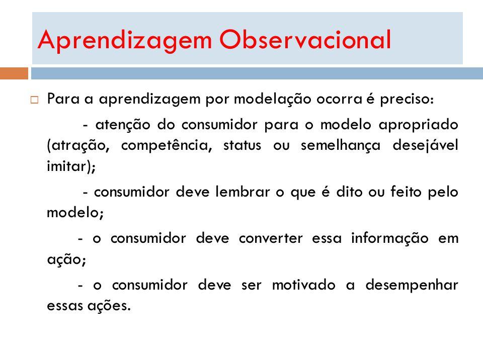 Aprendizagem Observacional