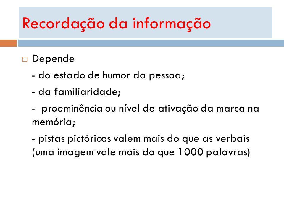 Recordação da informação