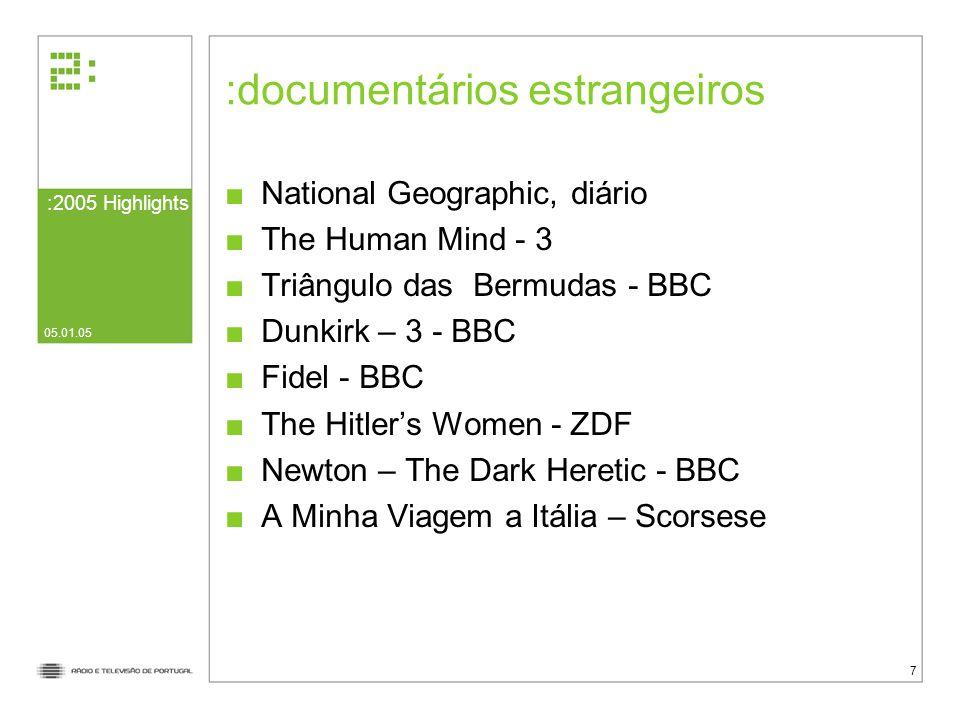 documentários estrangeiros