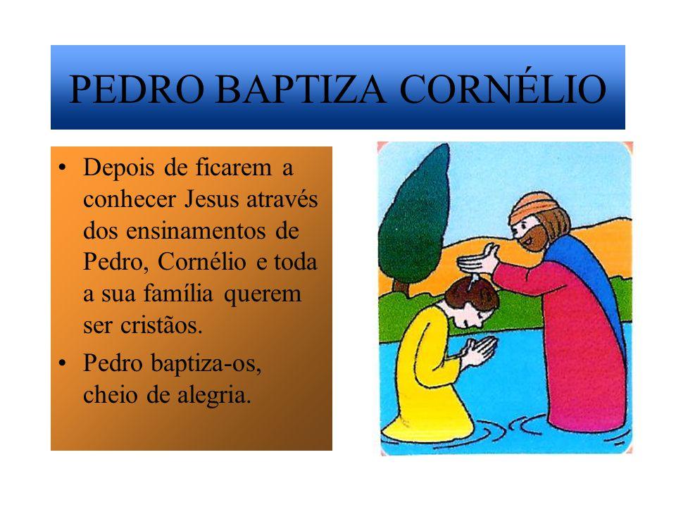 PEDRO BAPTIZA CORNÉLIO