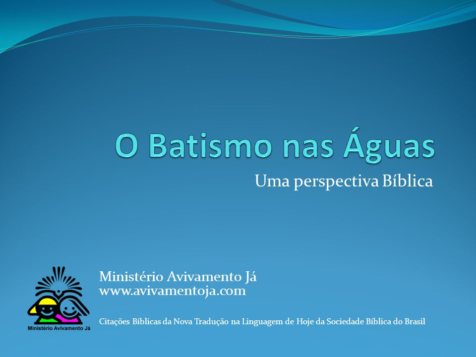 Uma perspectiva Bíblica
