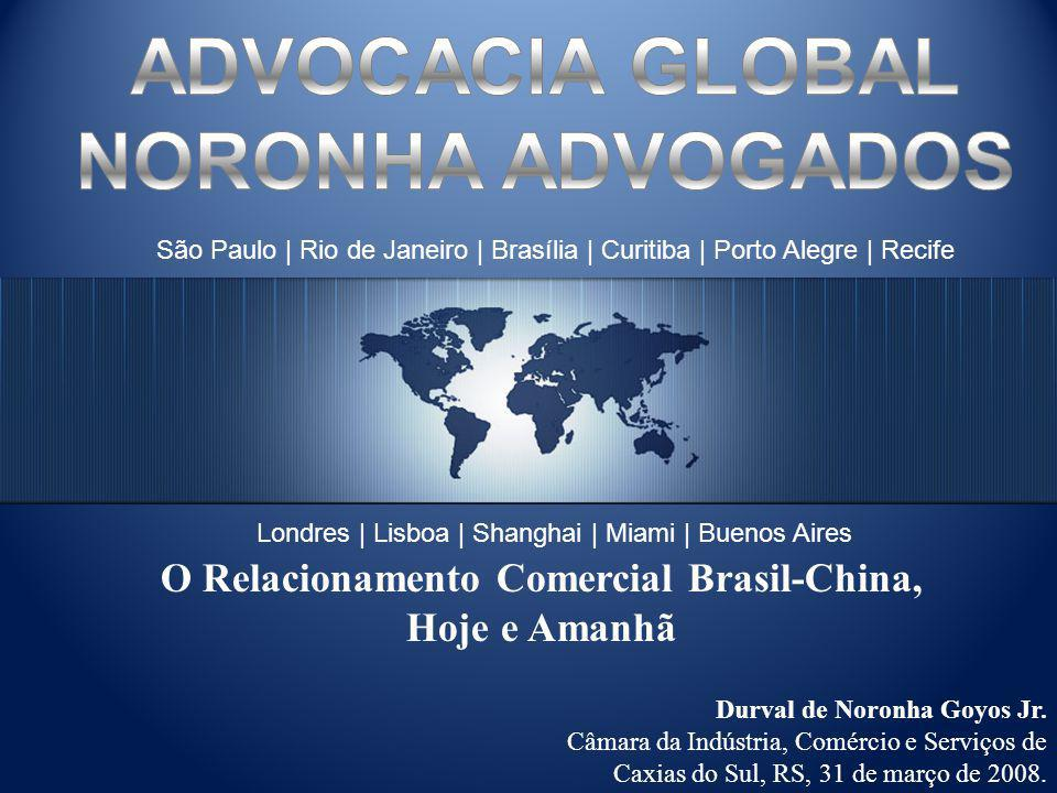 O Relacionamento Comercial Brasil-China,