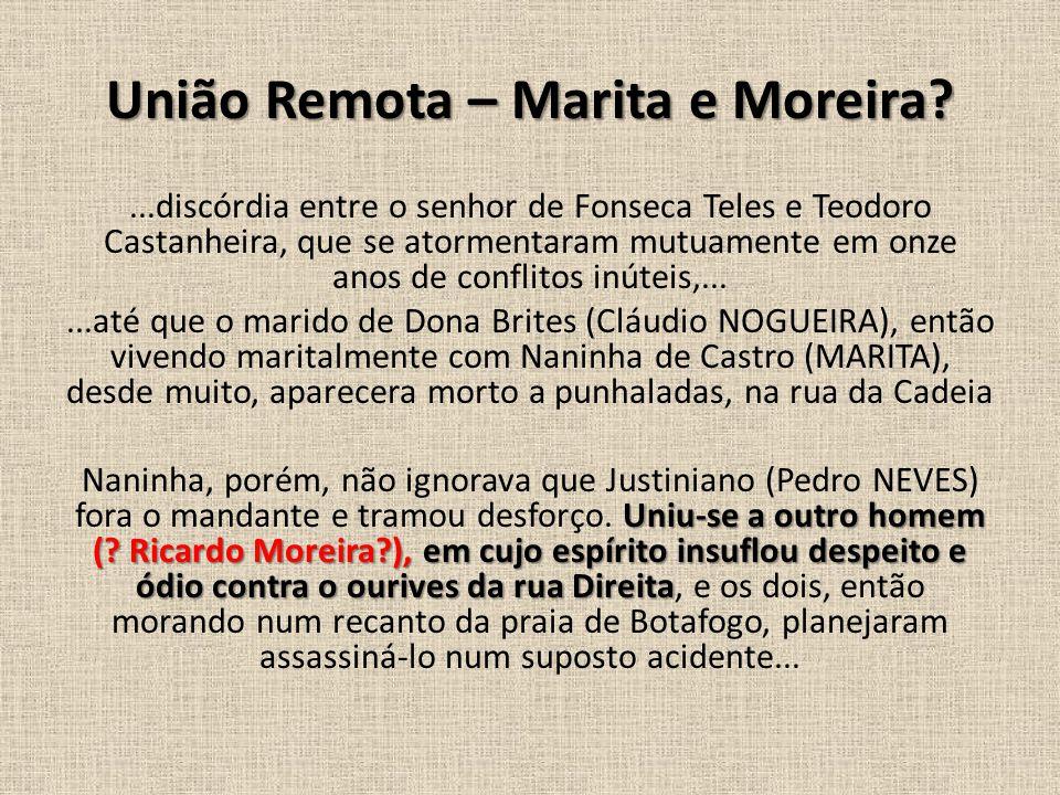 União Remota – Marita e Moreira