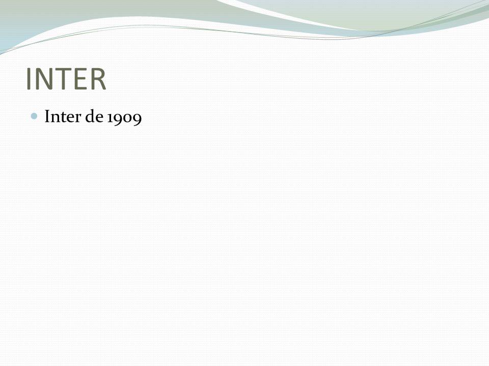 INTER Inter de 1909