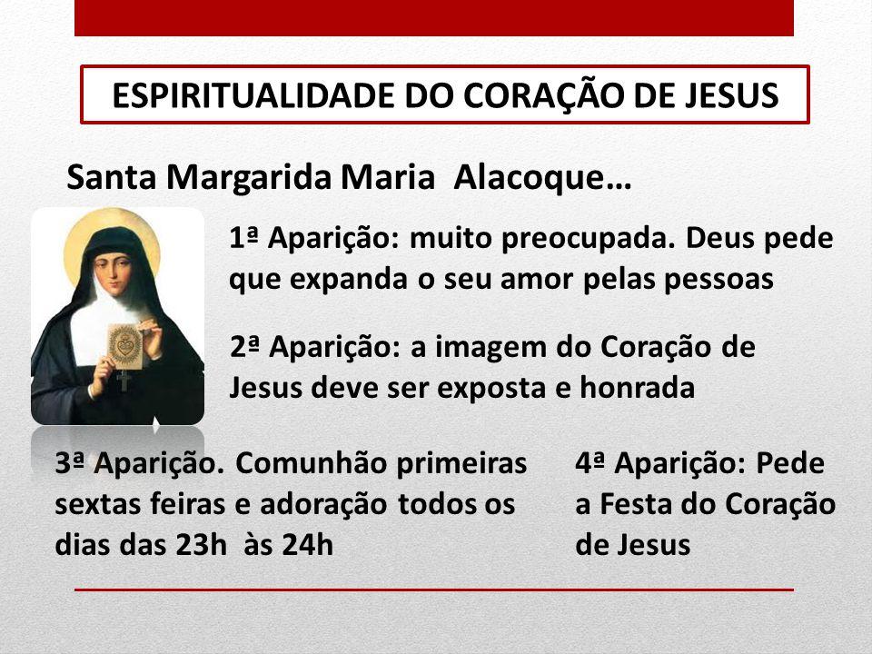 ESPIRITUALIDADE DO CORAÇÃO DE JESUS