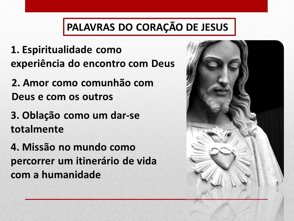 PALAVRAS DO CORAÇÃO DE JESUS