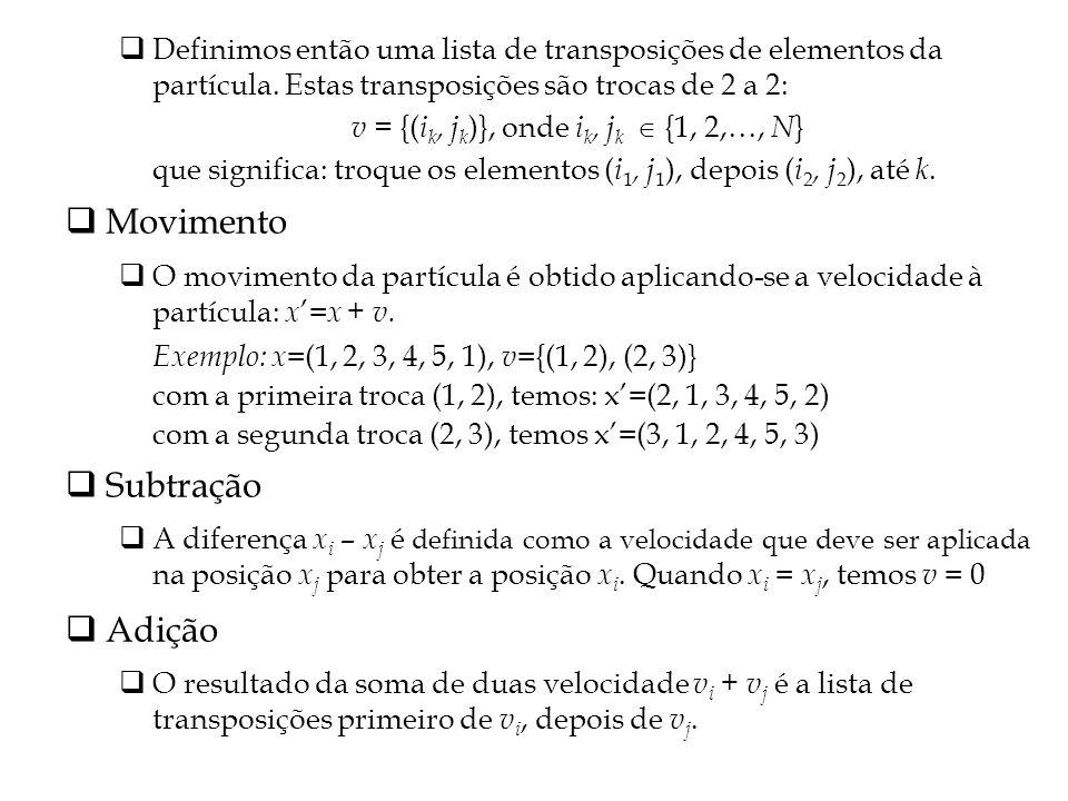 v = {(ik, jk)}, onde ik, jk  {1, 2,…, N}