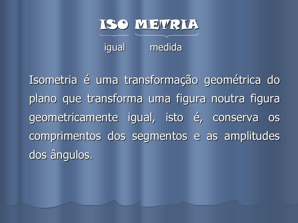 ISO METRIA igual medida