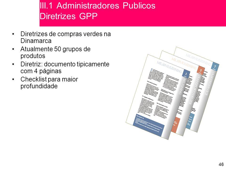 III.1 Administradores Publicos Diretrizes GPP
