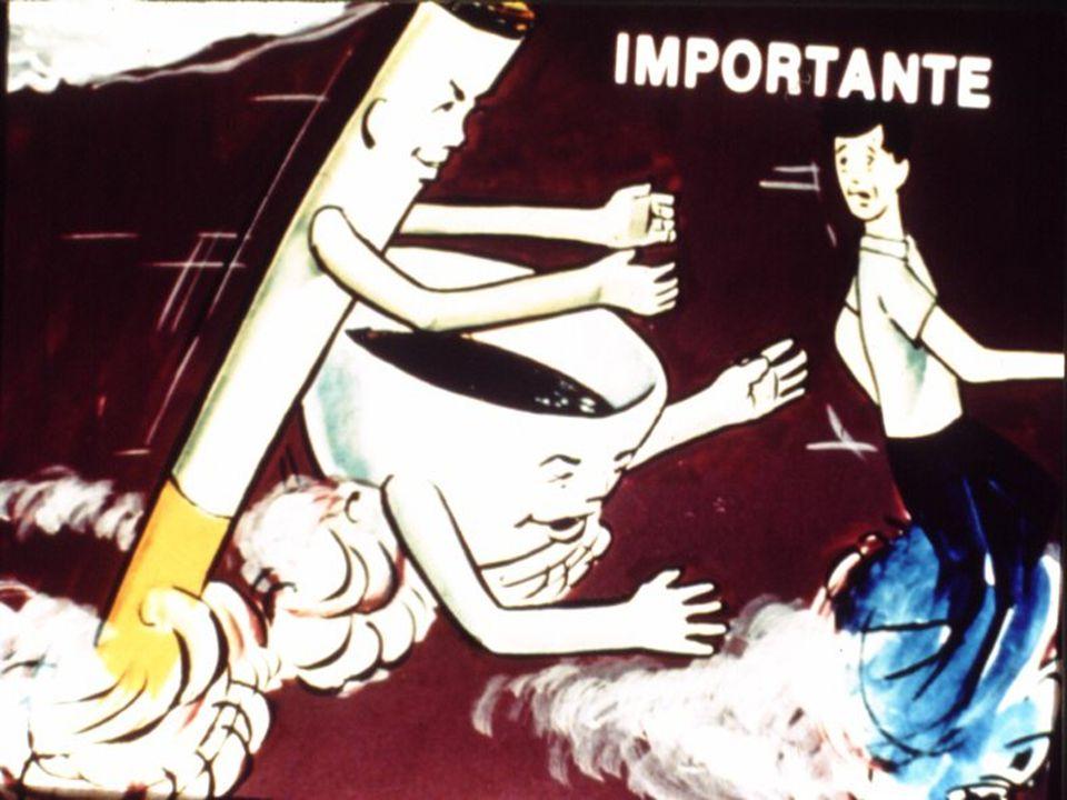 O café estimula a vontade de fumar.
